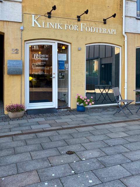 Klinik for Fodterapi facade
