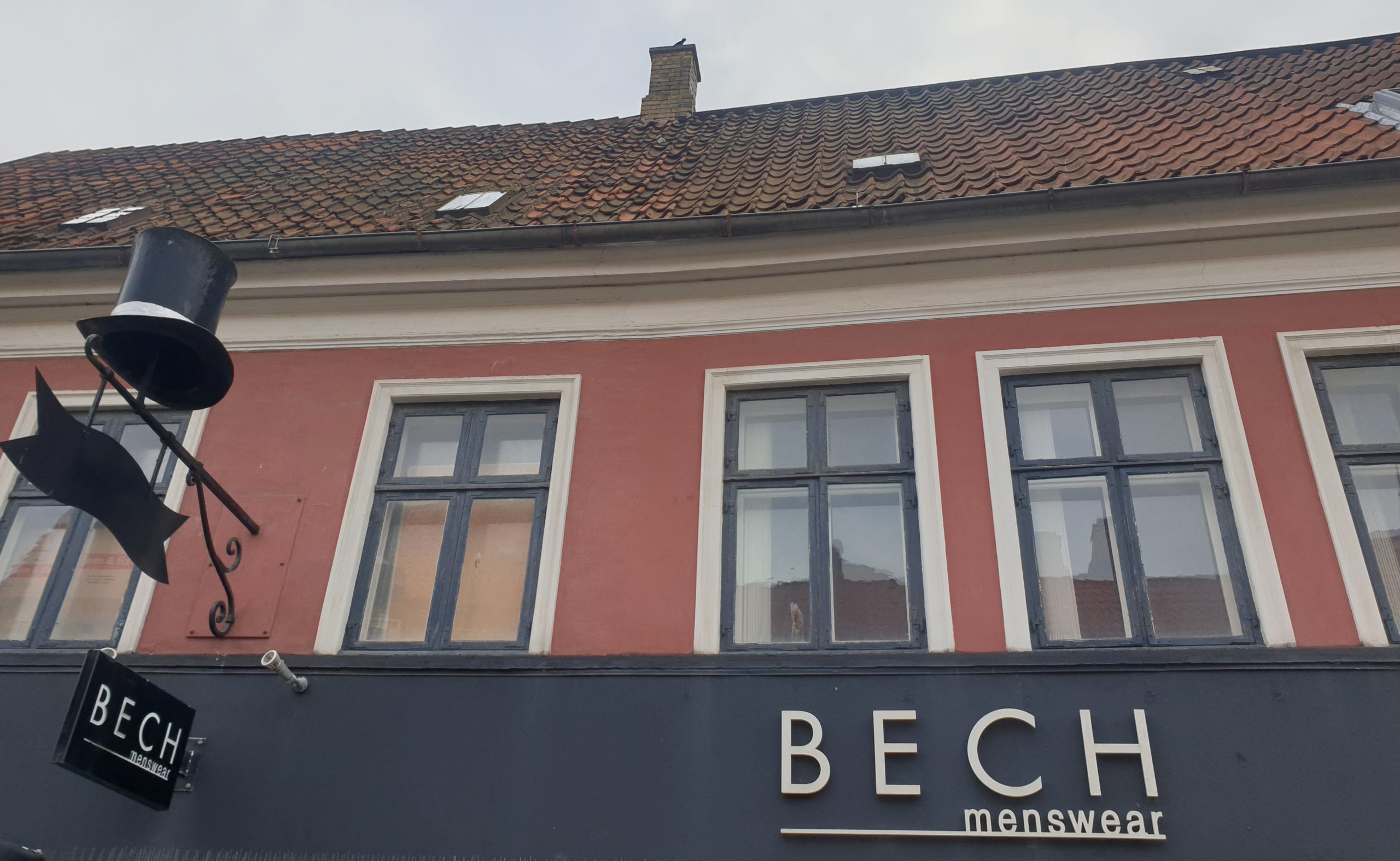 Bech Menswear facade
