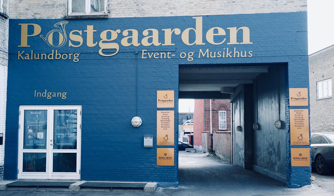 Postgaarden Kalundborg Event og Musikhus facade