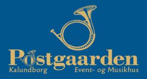 Postgaarden Kalundborg Event og Musikhus logo