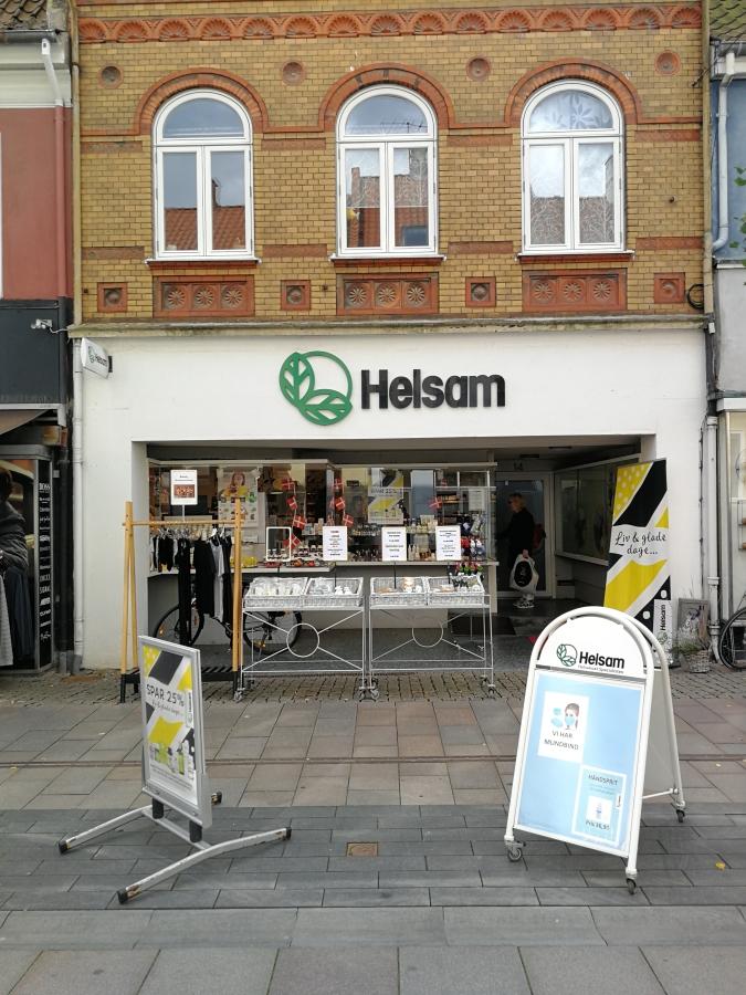 Helsam facade