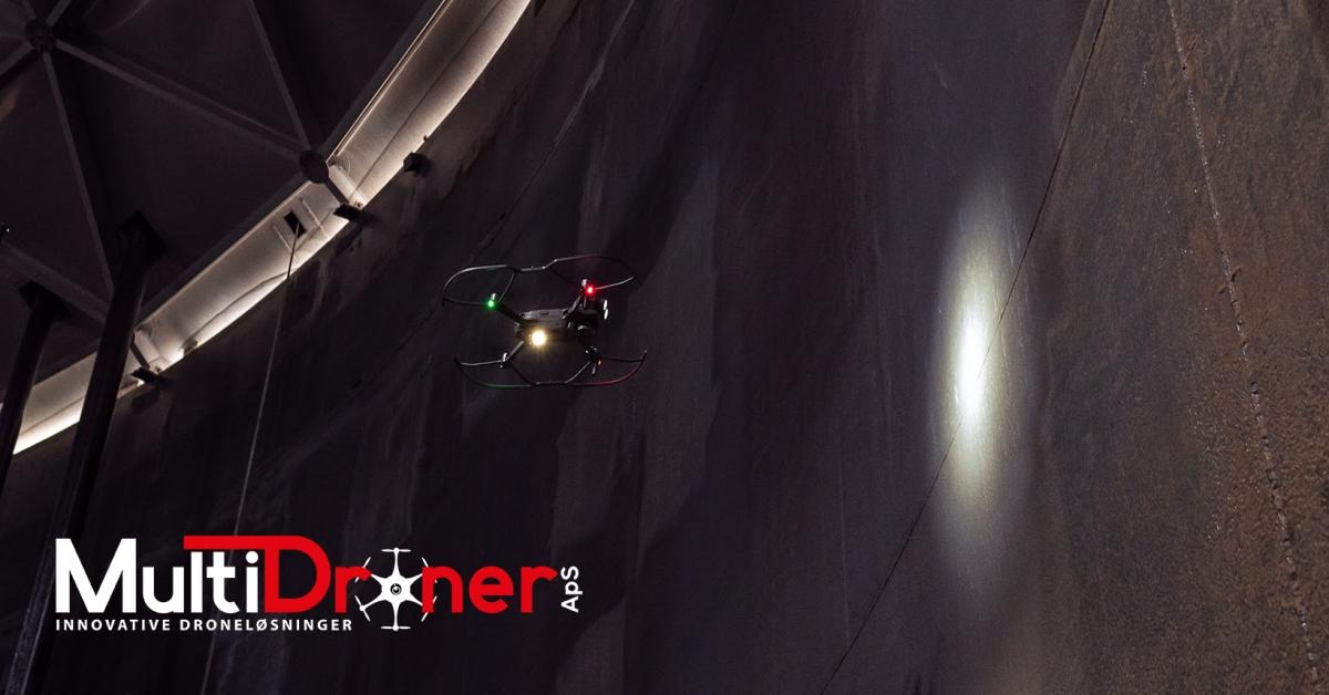 Drone i tank