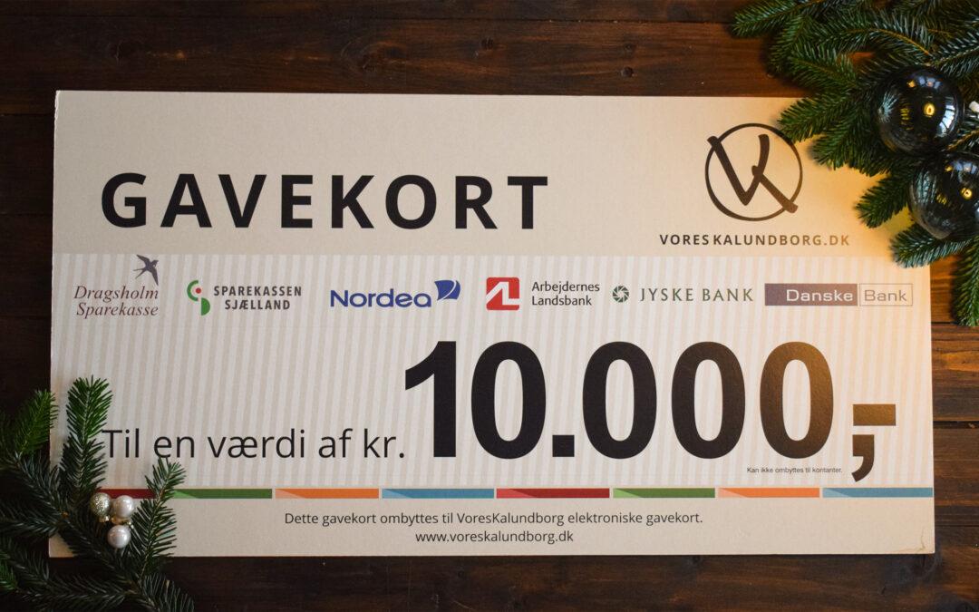Bankernes gavekort 10.000 – konkurrence