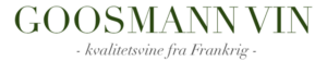 GOOSMANN VIN logo
